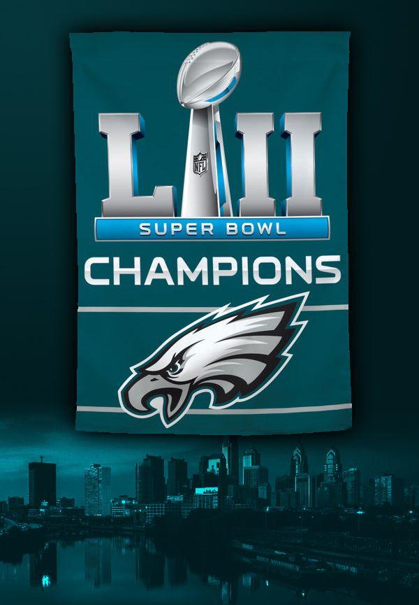 Philadelphia Eagles Super Bowl Lii Champions Philadelphia Eagles Football Eagles Team Philadelphia Eagles Logo