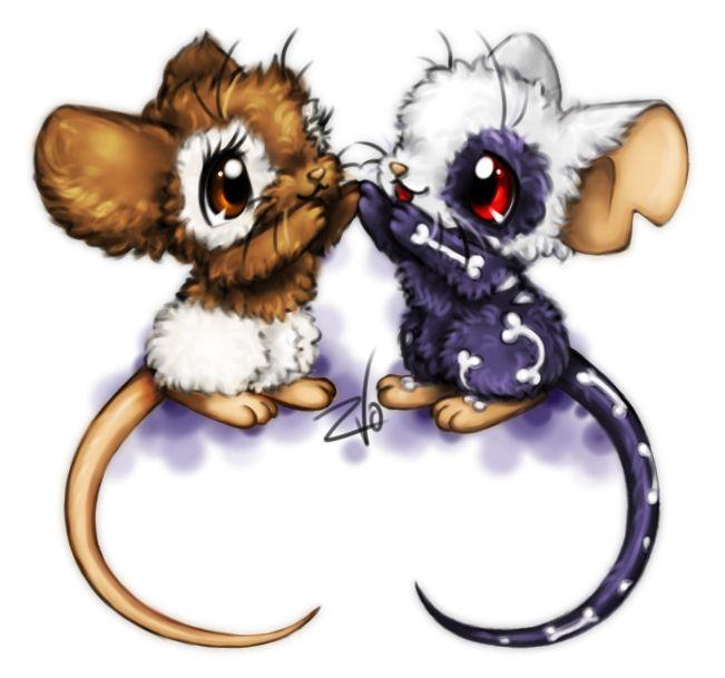 Transformice. Two mice by krikdushi.deviantart.com on @deviantART