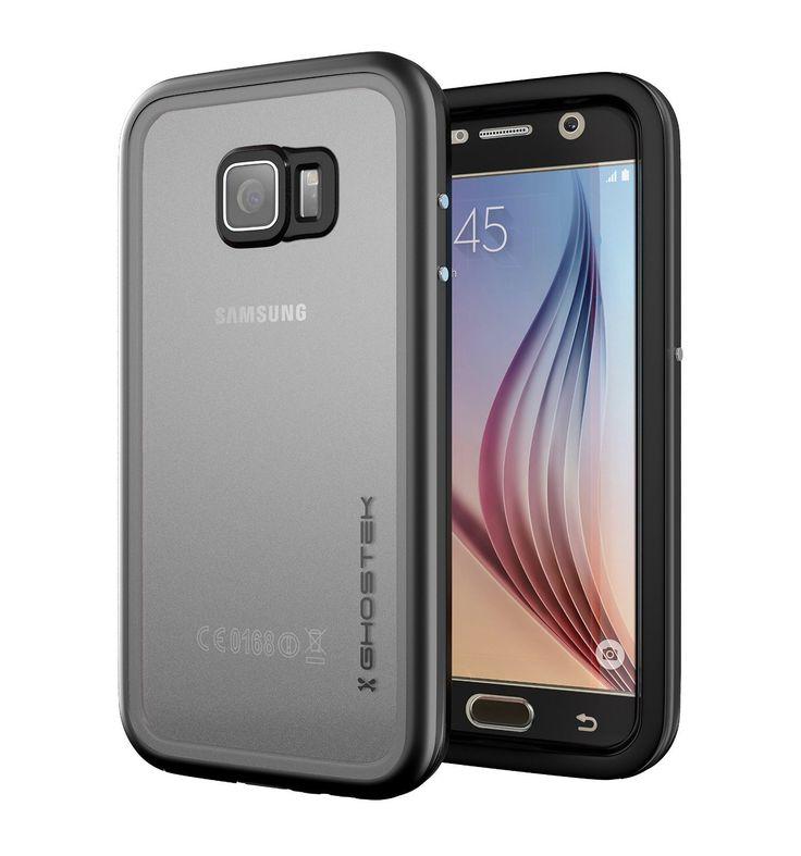 **Pre-Order**  Galaxy S7 Waterproof Case, Ghostek® Atomic 2.0 Black  Water/Shock/Dirt/Snow Proof | Lifetime Warranty
