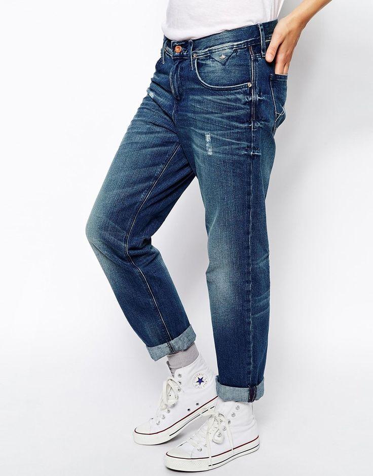 Hilfiger Denim Carrie Boyfriend Jeans - Blue | FASHIONLOVERS