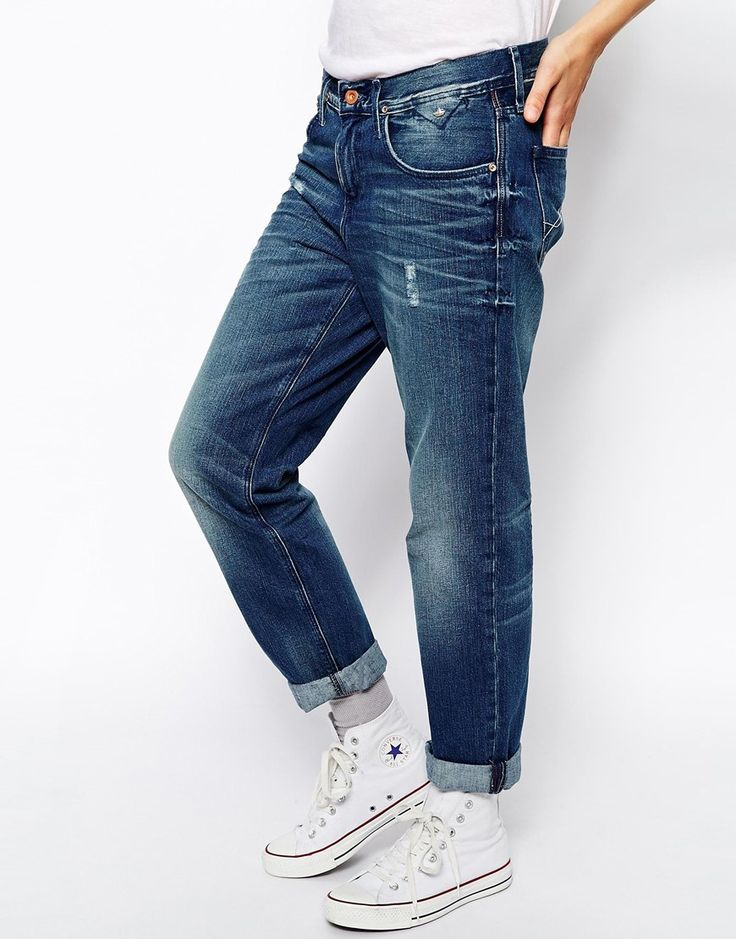Hilfiger Denim Carrie Boyfriend Jeans - Blue | FASHIONLOVERS