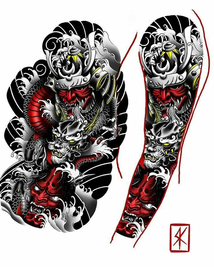 Pin By Rileyonealbaker On Tattoo Ideas In 2020 Samurai Tattoo Sleeve Koi Tattoo Sleeve Irezumi Sleeve