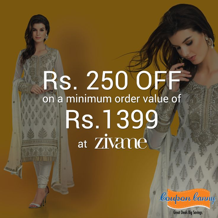 Celebrate this ‪#‎Diwali‬ with ‪#‎Zivame‬!  Rs. 250 OFF on a minimum order value of Rs.1399 at Zivame!  For more ‪#‎coupons‬: http://www.couponcanny.in/zivame-coupons