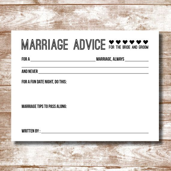 27 Best Images About SouthernCards Wedding Advice Cards Amp Baby Shower Games On Pinterest