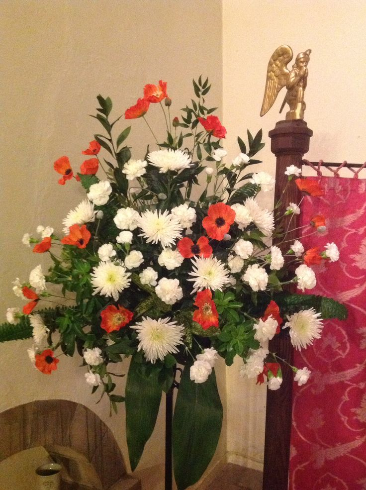 Best 20 remembrance poppy arrangements images on pinterest poppies for remembrance mightylinksfo