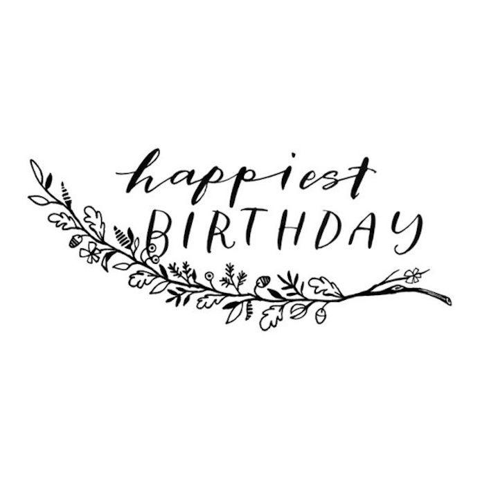 Sélection De Typographie #59 : Birthday
