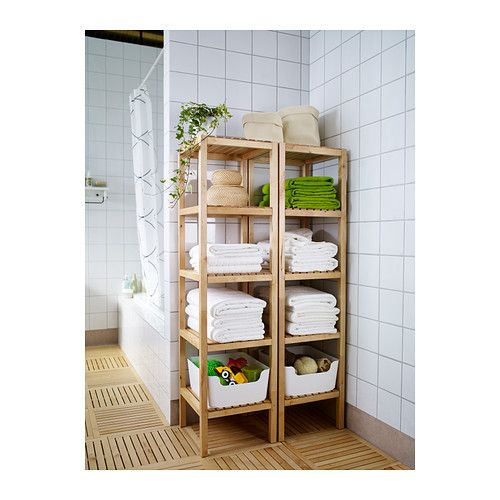 360 degree shoe rack!?? $39 MOLGER Shelving unit IKEA The open shelves give a clear overview and easy access.