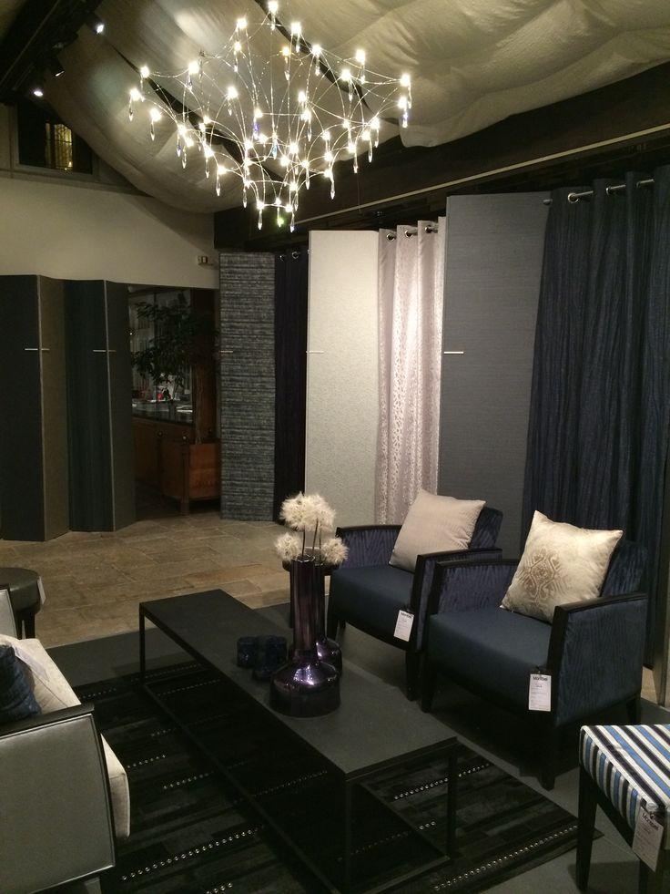 Kobe stand @parisdecooff - Deco off- Paris #parisdecooff #decooff #montbel #interiors #contractfabrics #decoration #lifestyle #fabrics #gordijnen #meubelstoffen #wooninrichting