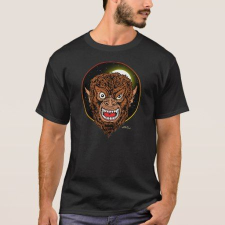 The Werewolf T-Shirt - tap, personalize, buy right now!