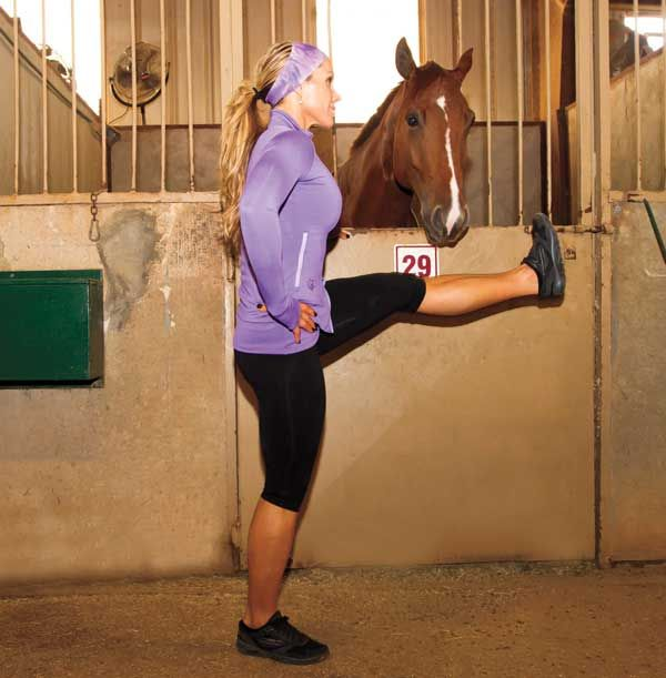 Stretching for Better Horsemanship, Part 1