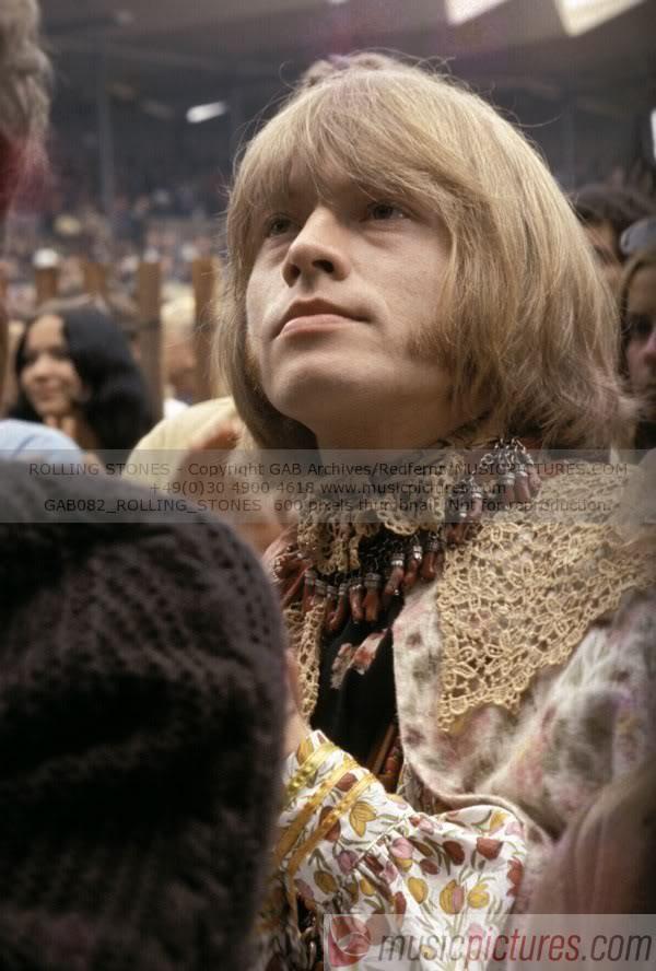 Brian Jones - Monterey Pop Festival  - 1967