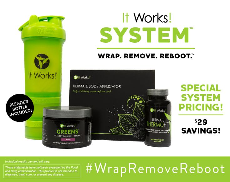 """Have you found yourself year after year making New Year's Resolutions that you just can't keep or don't see any results? It's time to makeover your resolutions! Make this the year you experience """"life-shaking"""" results when you WRAP. REMOVE. REBOOT. with the It Works! System! I'm so excited to see what this combination of awesome …"""