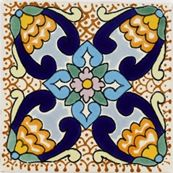 Talavera mexican ceramic tiles