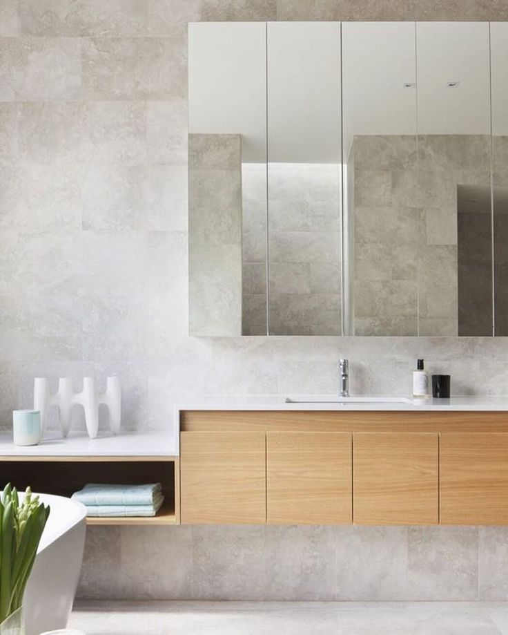 Simplicity from @bowerarchitecture | #love #bathroom #inspo #Melbourne  by @shannonmcgrath7