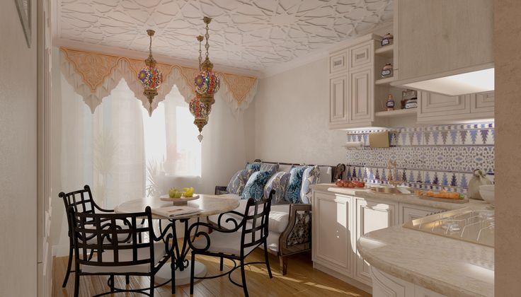 Кухня-столовая 15-20 кв. м.: 80 фото идей дизайна интерьера