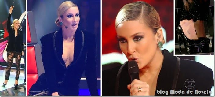 moda do programa the voice brasil - claudia leitte dia 03 e 10 de outubro de 2013