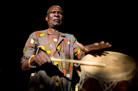 A Servant of Rhythm From Ghana in Texas