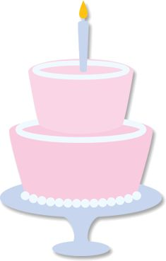 Birthday Cake SVG File for Sure Cuts a Lot