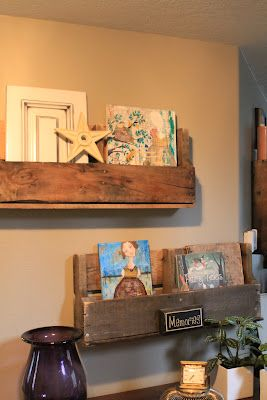 Eco-Chic: Pallet Shelves