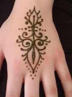 Easy Beginner Henna Tattoos  Mehndi Designs For Hands Popular
