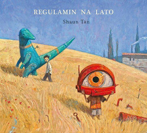 """""""Regulamin na lato"""" Shaun Tan."""