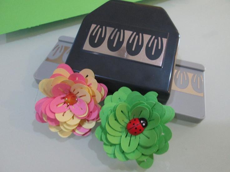 EK tools dimensional flower punch - The carnation