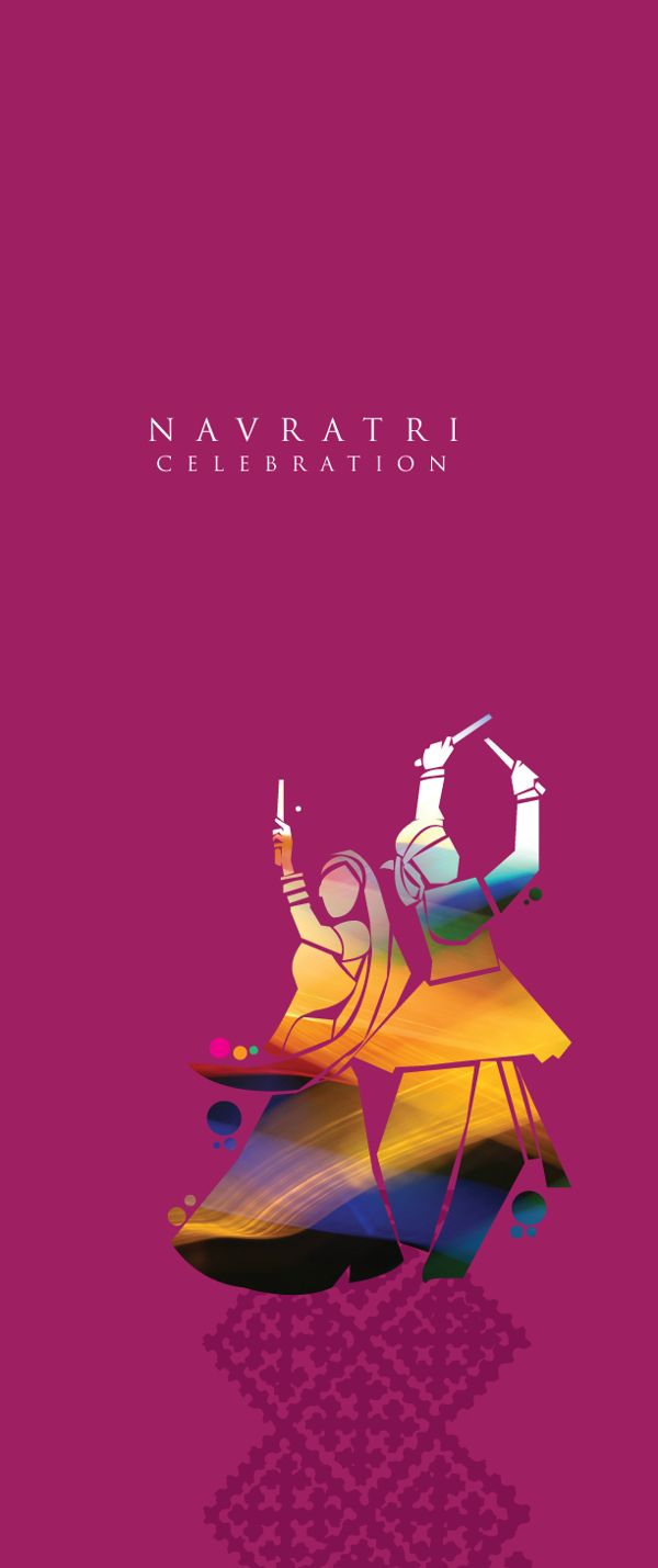 Navratri invite card 2013 on Behance