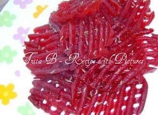 Red Beet Salad . Recipe With Pictures: - Hungarian food