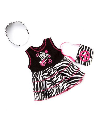 Another great find on #zulily! Rock Star Outfit for 18'' Doll #zulilyfinds