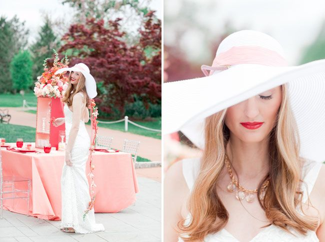 A C Poppy Red Palette Styled Two Ways Pinterest. 5 Floppy Hat Fashion Rules  ... 140e4674a6f