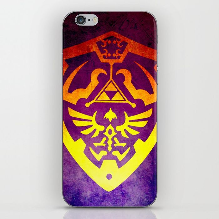 25% Off Everything With Promo Code GIVEART25 - Ends Tonight at Midnight PT!. Zelda Shield II iPhone Skin.  #iphone  #iphonecase  #iphonexcase  #gifts #iphonecase #society6 #sales #save #discount #family #giftsforhim #giftsforher #style #art #online #shopping #onlineshopping #posters #thelegendofzelda #gaming #gamer #geek  #videogames #gamingiphonecase  #kids #zeldaiphonecase  #thelegendofzeldaiphonecase