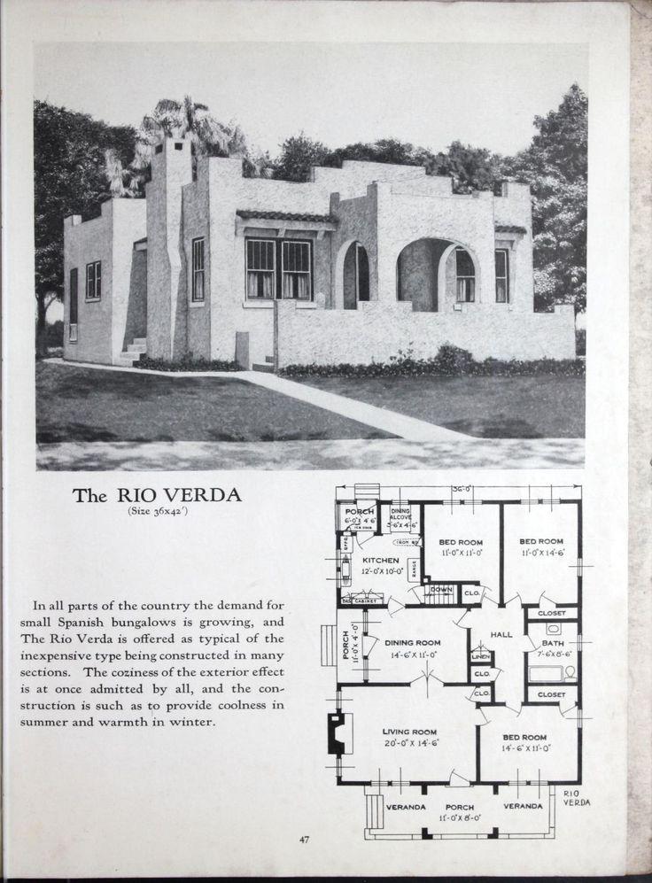 Spanish bungalow house plans escortsea for Spanish bungalow house plans
