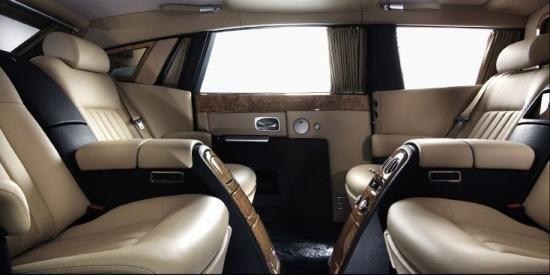 Phantom Limo Interior Car Rolls Royce Limousine Cars