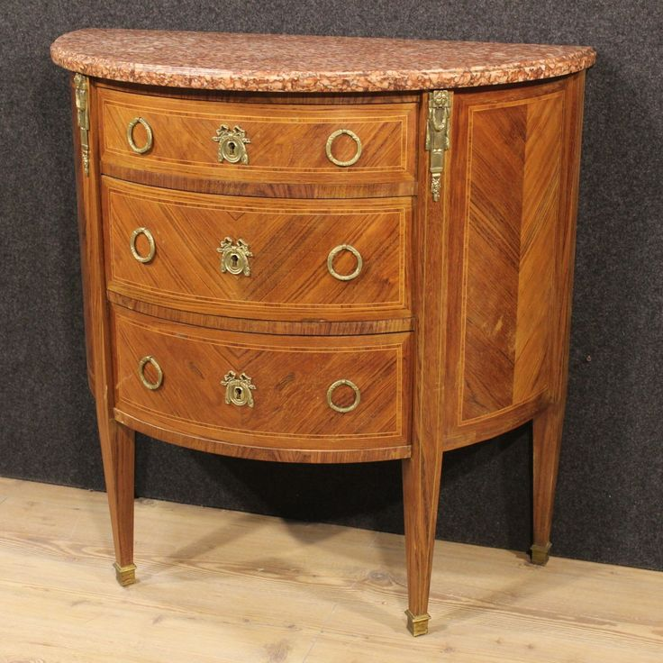 Price: 1100u20ac French Half Moon Of The Twentieth Century. Piece Of Furniture  In
