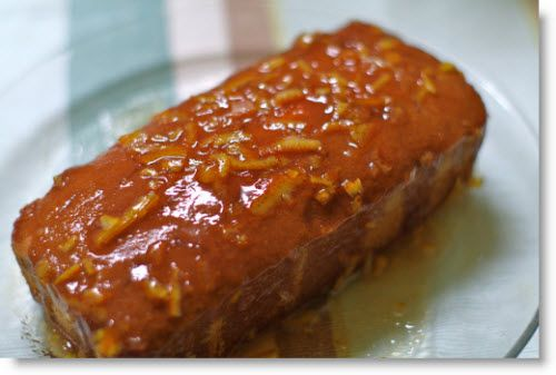 Cognac Pound Cake