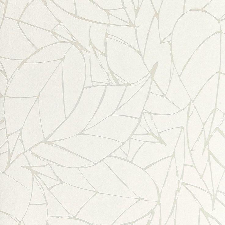 cheap papier peint clelia expans sur intiss motif vgtal relif blanc peinture et papier with. Black Bedroom Furniture Sets. Home Design Ideas