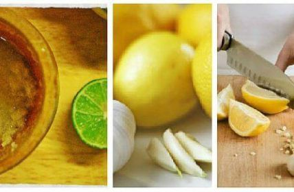 Ga buikvet tegen met dit middel van knoflook en citroen