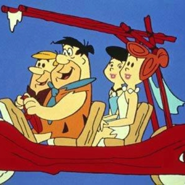 The Flintstones - watched this every day at lunch, the school bused us home then picked us up for the afternoon session