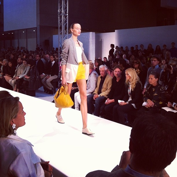 More from the Paul Smith show earlier.