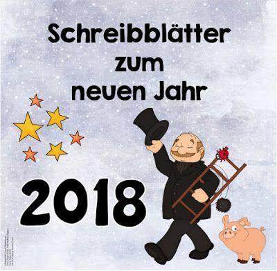 Ideenreise: Fürs neue Jahr (Schreibblätter für 2018)