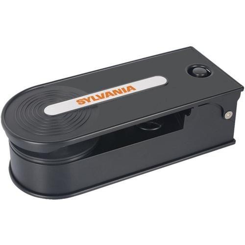 Sylvania STT008USB Portable USB Turntable PC Encoding - Black