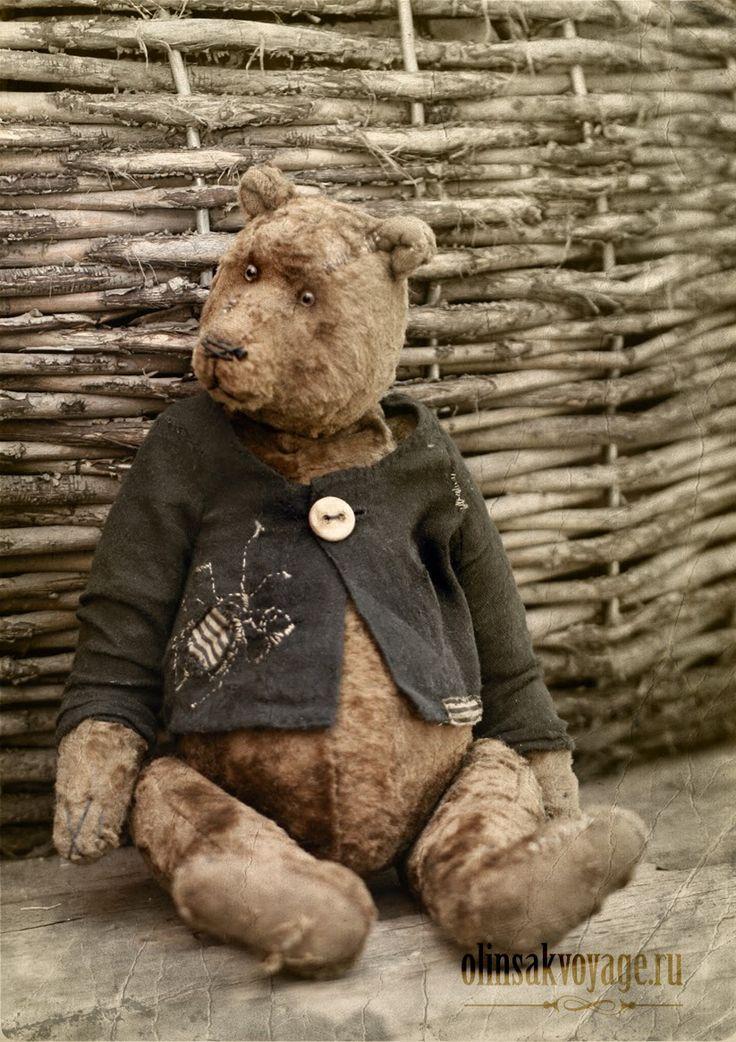 olin sakvoyage teddy bear