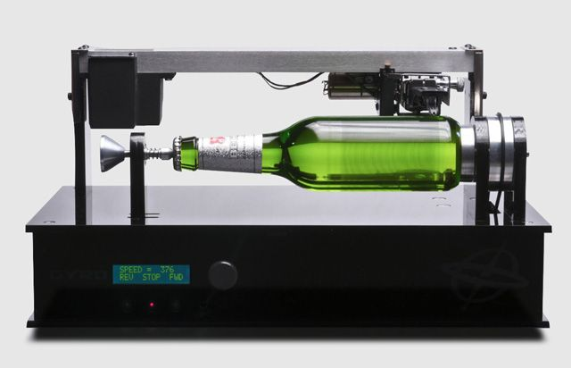 "For the Beck's Record Label project, creative agency Shine Limited created the Edison Bottle, the world's first playable beer bottle. The bottle is inscribed with the single ""Here She Comes"" by New Zealand band Ghost Wave from their album Ages and can be ""played on a specially-built device based on Thomas Edison's original cylindrical phonograph."""