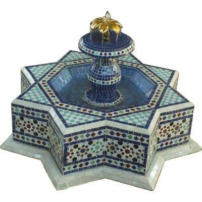 Les 25 meilleures id es de la cat gorie mosaique marocaine for Table exterieur orientale