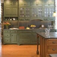 Rustic Green Kitchen Cabinets 39 best rustic greens images on pinterest   architecture, colors