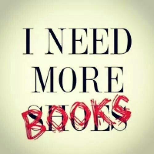 I NEED more books! :)