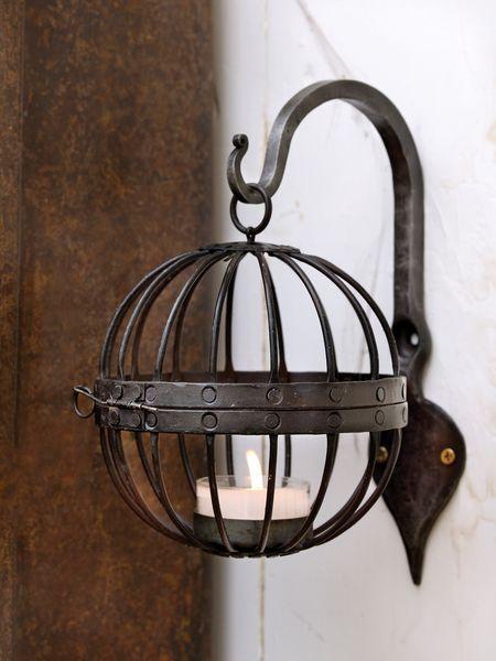 Rustic Cage Tealight Hurricane #nordic #house #scandi #home #decor #industrial #tealight #hurricane