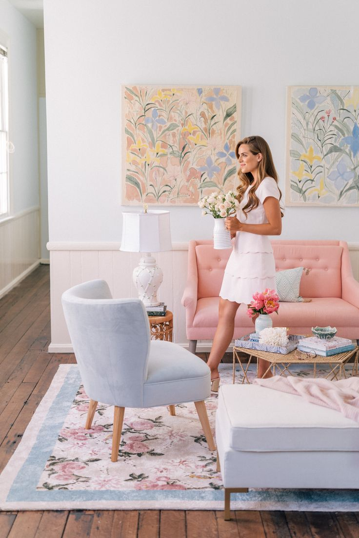 It's here!!! The Gal Meets Glam 'Garden Party' rug I designed with Lulu & Georgia is now available to purchase! I gave a few sneak peeks over the past few months showing some details of the rug, but I'm thrilled to finally share the whole thing! ...
