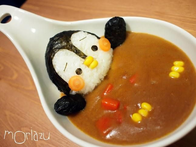 There's a penguin in my soup...