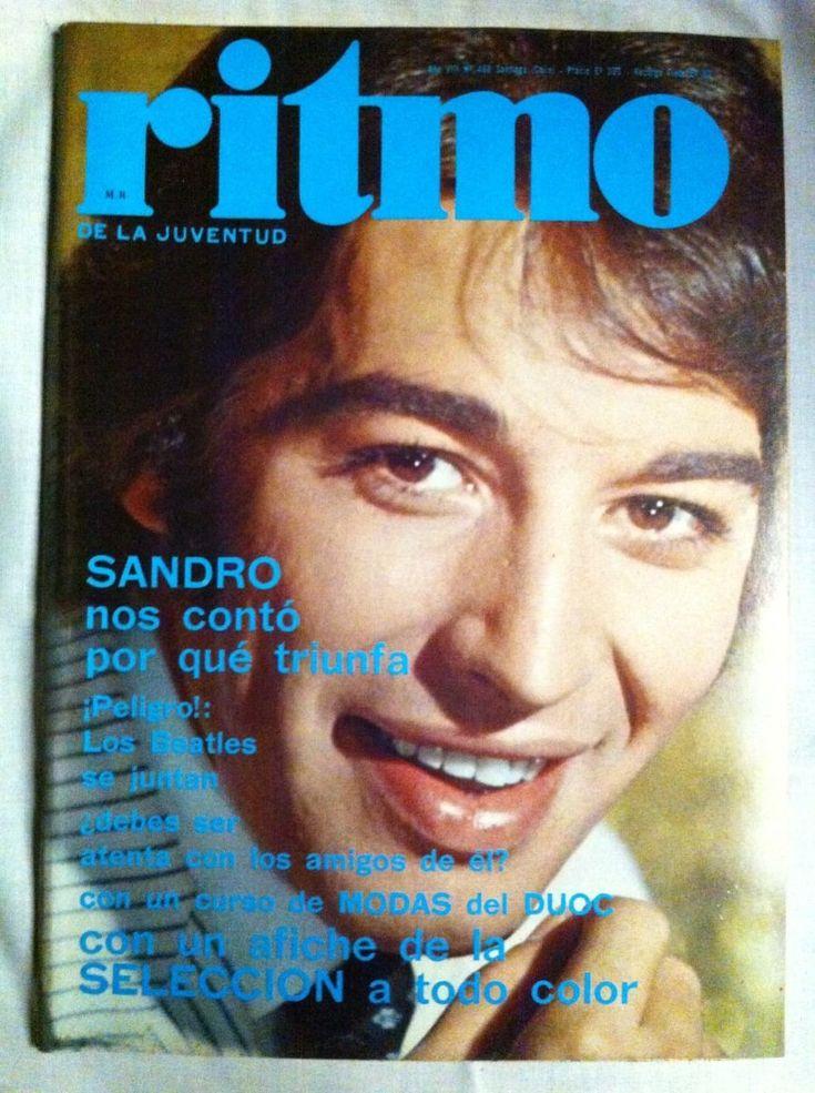 revista ritmo sandro nº 460, jul 1974- beatles- los galos